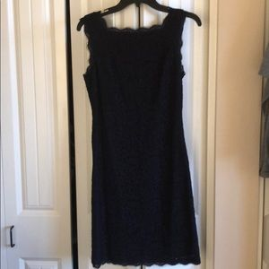 Adrianna Papell Lace Evening Dress